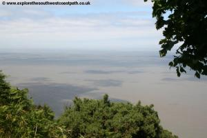 View over the Severn Estuary