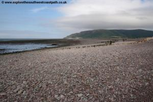 The beach at Porlock Weir