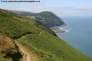 View back to Lynmouth