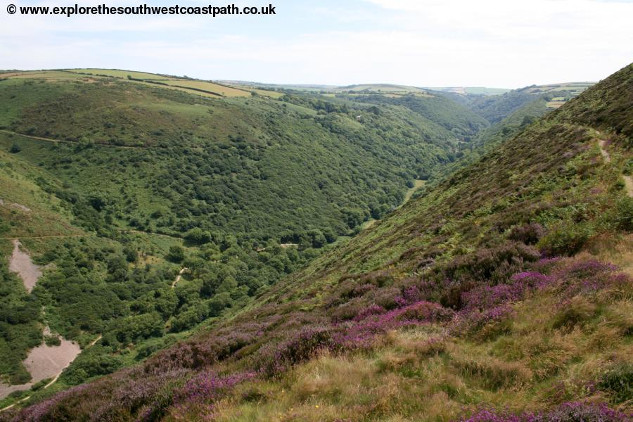 The valley at Heddon's Mouth