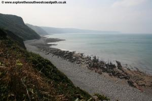 The Coast Path near Peppercombe