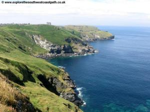 View back to Tintagel