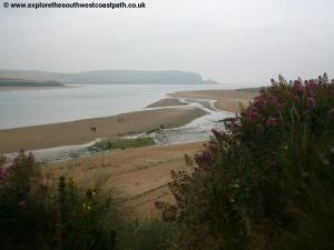 The Camel Estuary near Rock