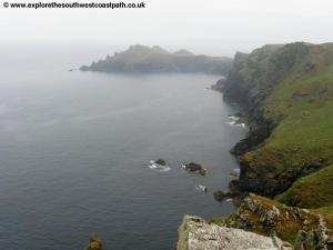 View to The Rumps