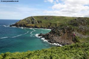 View back to Zennor Head