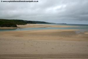 St Ives Bay near Hayle