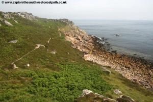 The path on St Martins Head