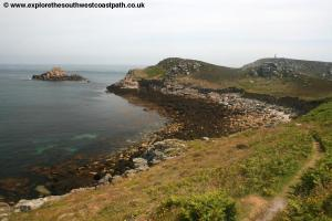 View back to St Martins Head