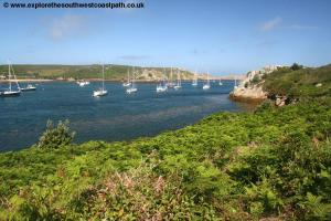 The west coast of Tresco, north of New Grimsby