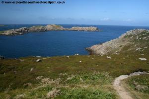 View to Shipman Head on Bryher