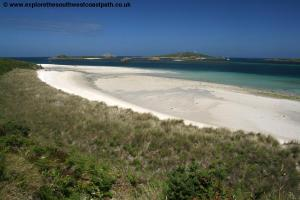 The south east coast of Tresco