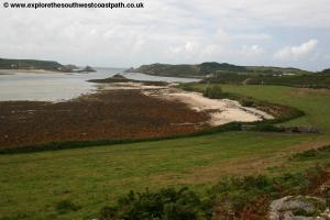 The south west coast of Tresco
