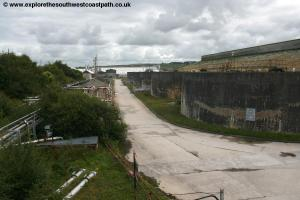 China Clay works at Par