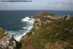 Leaving Cape Cornwall