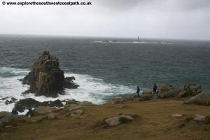 Longships Lighthouse off Lands End