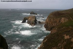Enys Dodnan near Lands End