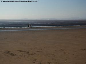 The beach at Weston-super-Mare