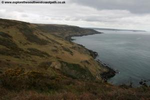 View back to Penlee Point from Rame Head