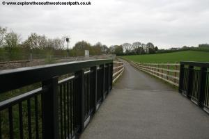 The new cycle path