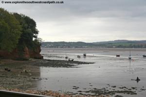 The Exe estuary near Lympstone