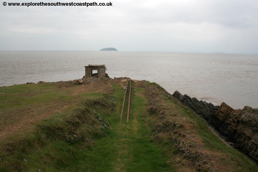 Steep Holm and Brean Down fort