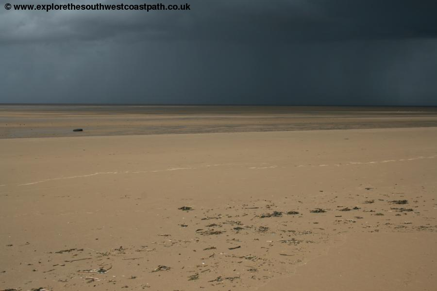Storm at Berrow