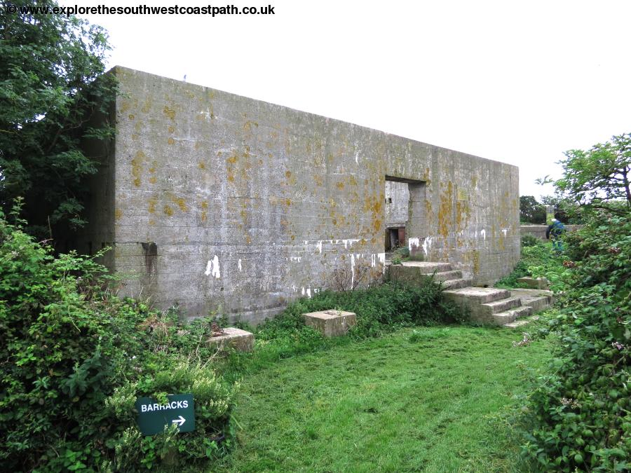 World War II structures on Steep Holm