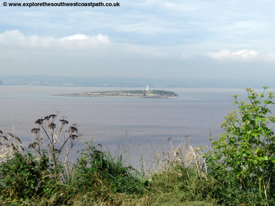 Flat Holm from Steep Holm