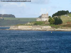 St Mawes Castle from Place