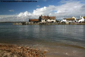 Mudeford from Mudeford Sandbank
