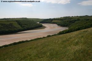 The Avon Estuary near Bigbury