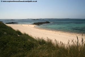 The north coast of Herm
