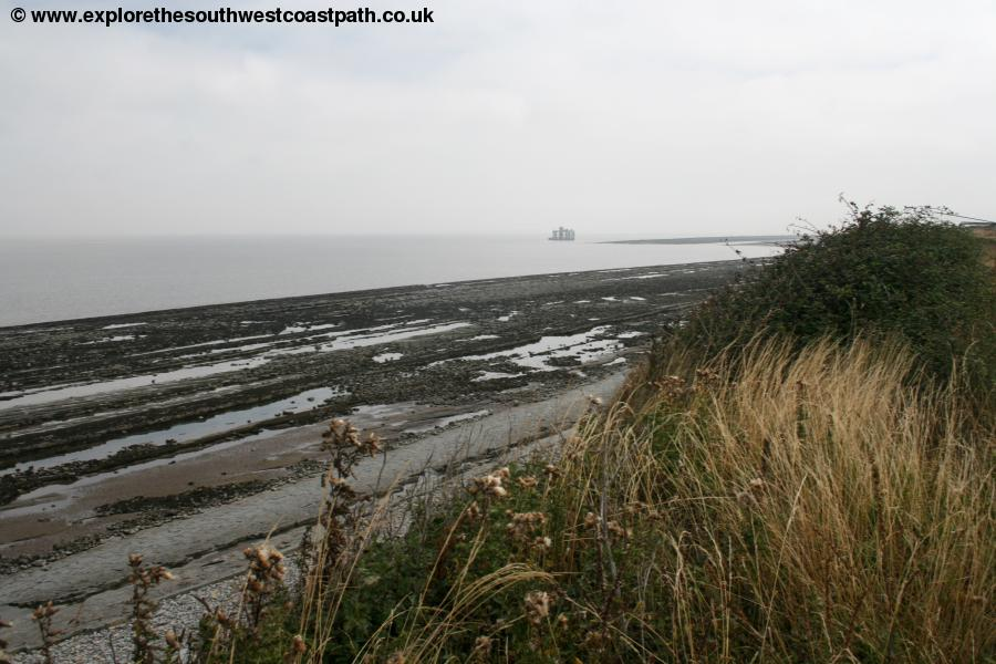 The coast near Hinkley Point