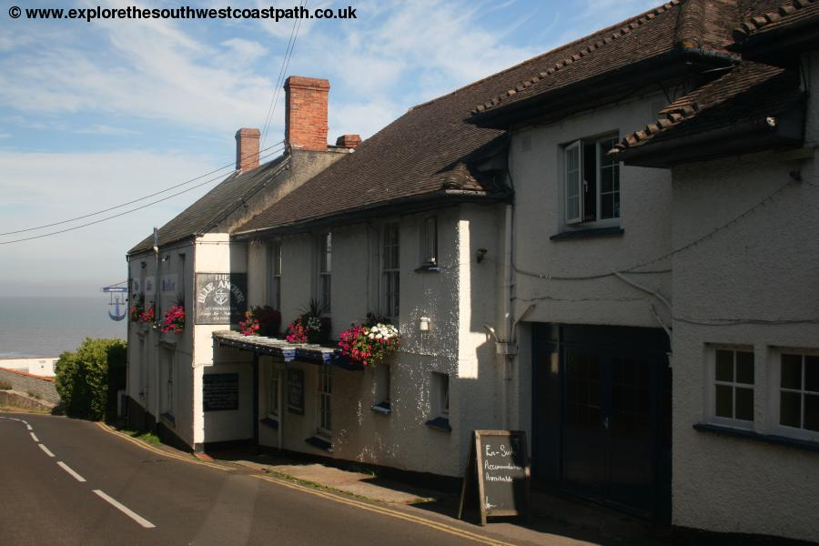 The Blue Anchor pub