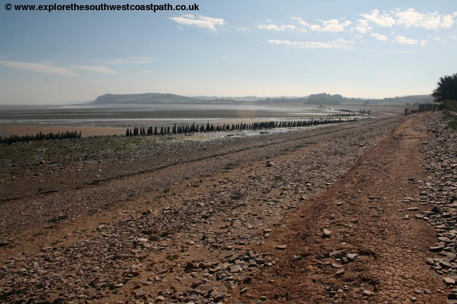 The coast west of Blue Anchor