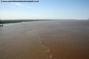 The Severn from the Severn Bridge