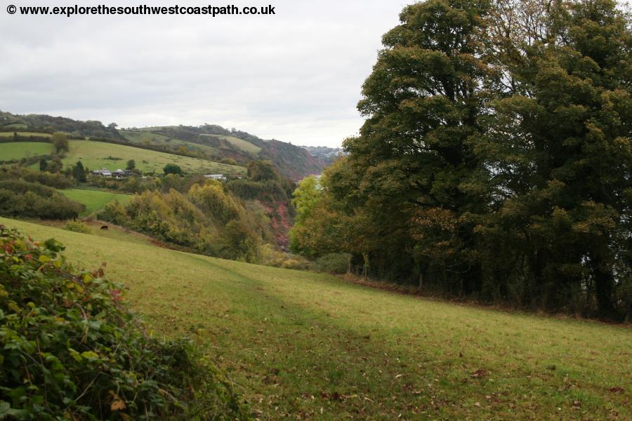Between Maidencombe and Watcombe