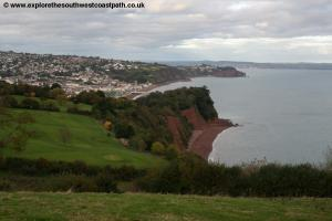 Shaldon and Ness Cove beach