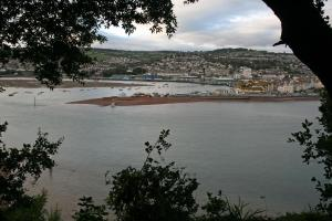 View down to Teignmouth