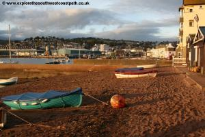 Teignmouth Back beach