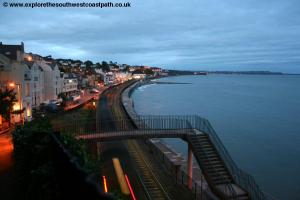 View back over Dawlish