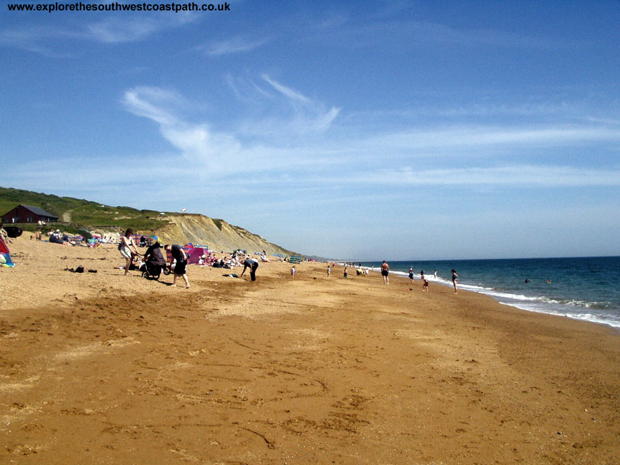 Burton Bradstock Beach, looking East