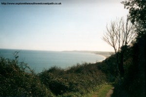 Approaching Slapton Sands