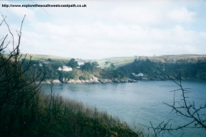 The river Dart and Kingswear Castle