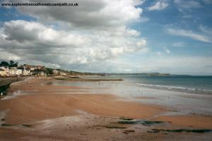 The beach at Dawlish