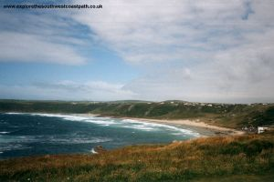 Approaching Sennen Cove