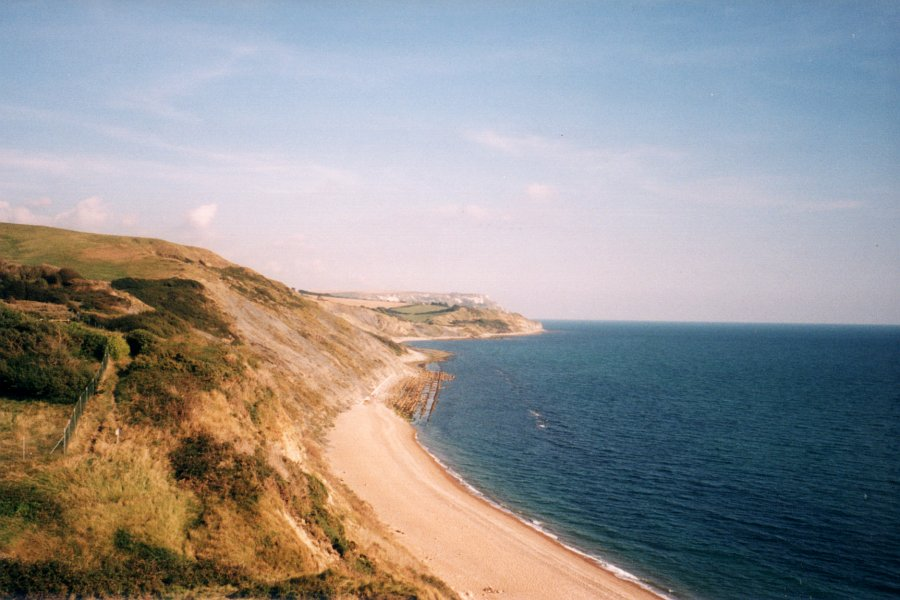 View back towards Ringstead Village