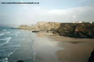 Looking towards Porth