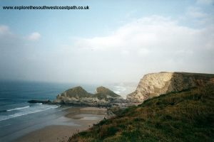 View towards Watergate Bay