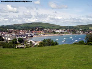 Swanage from Peveril Point